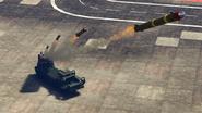 Chernobog tir de barrage (missile) GTA Online