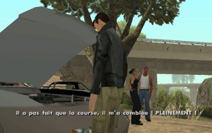 Farewell, My Love… GTA San Andreas (satisfaction)