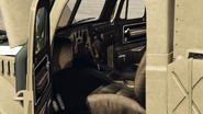 Autochenille vue intérieur GTA Online