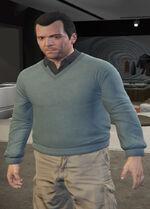 Ponsonbys (V - Bladojadeitowy sweter)