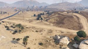 Grand Senora Desert - GTAV