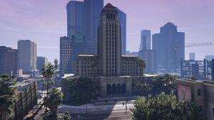 Los Santos City Hall GTAVe Overview