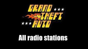 GTA 1 (GTA I) - All Radio Stations