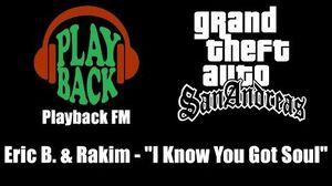 GTA San Andreas - Playback FM Eric B