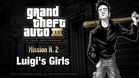 GTA 3 - iPad Walkthrough - Mission 2 - Luigi's Girls