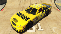 HotringSabre-GTAO-Liveries-56-Device-Yellow-FrontQuarter