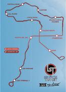Los Santos Transit carte GTAV