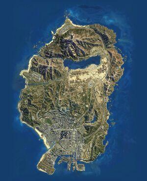 San Andreas (V - mapa)