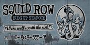 Squid Row Ad