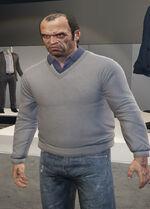 Ponsonbys (V - Bladoszary sweter)
