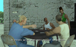 Zeroing In GTA San Andreas (ambition)