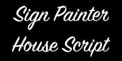 Sign Painter House Script