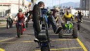 GTAO motos boulots bobos course