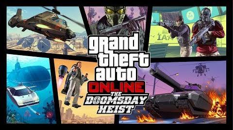 GTA Online The Doomsday Heist Official Trailer