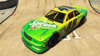 HotringSabre-GTAO-Liveries-45-SprunkX-treme-Yellow-FrontQuarter
