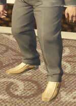 Ponsonbys (V - Beżowe buty wsuwane)