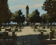 Colony Island - Cemitério
