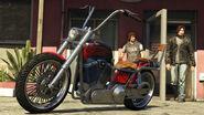GTAO motos boulots bobos Daemon custom