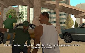 The Green Sabre GTA San Andreas (Sweet)