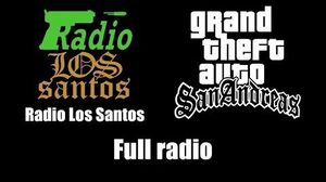 GTA San Andreas - Radio Los Santos Full radio