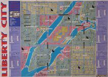 Libert City gta map