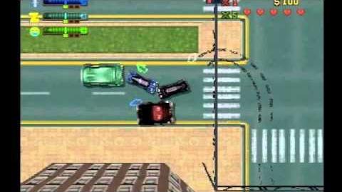 PS1 GTA 2 - Gameplay
