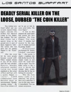 Coin Killer newspaper article 1