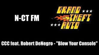 "GTA 1 (GTA I) - N-CT FM - CCC feat. Robert DeNegro - ""Blow Your Console"""