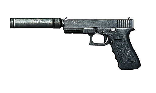 File:Glock18 silenced.png