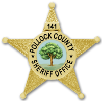 Pollock County Sheriff Badge
