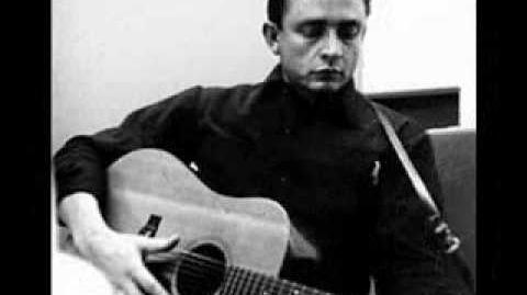 Johnny Cash - When th Man Comes Around ( w lyrics)