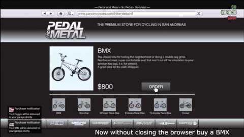 GTA V - How To Pick BMX Colour