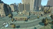 LCPD East Holland GTAIV AerialView