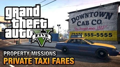 GTA 5 - Private Taxi Fares All's Fare in Love and War Achievement Trophy