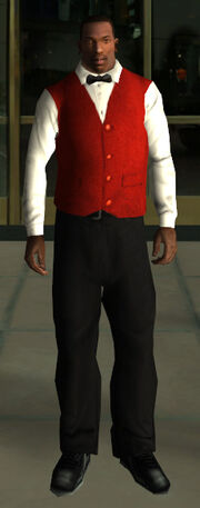 Valet Uniform (GTASA)