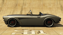 Coquette3Topless-GTAV-Side