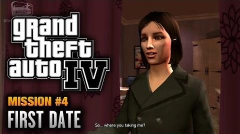 GTA 4 - Mission 4 - First Date (1080p)