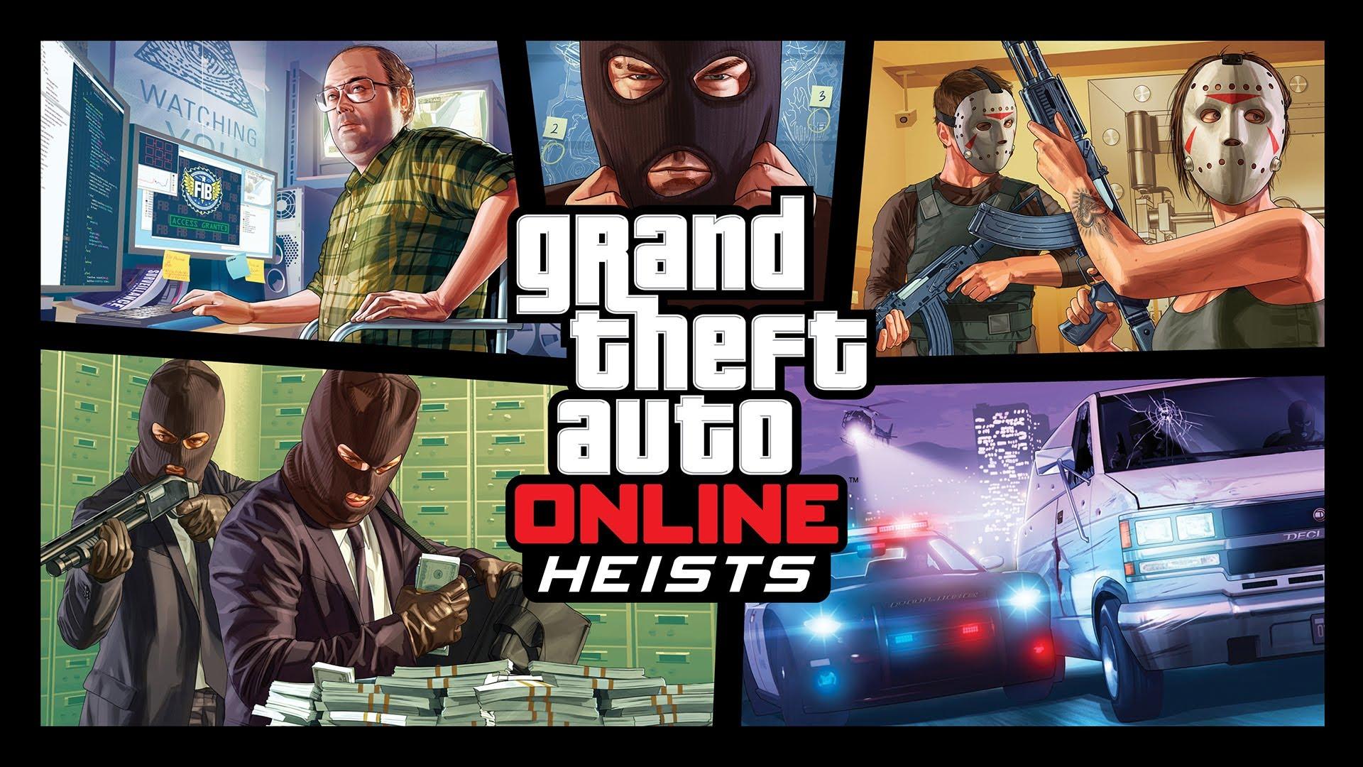 Heist in gta 5 online release date