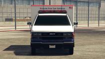 Ambulance-GTAV-Front