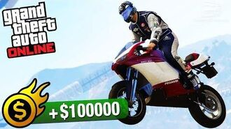GTA Online Premium Race - Mountain Drop