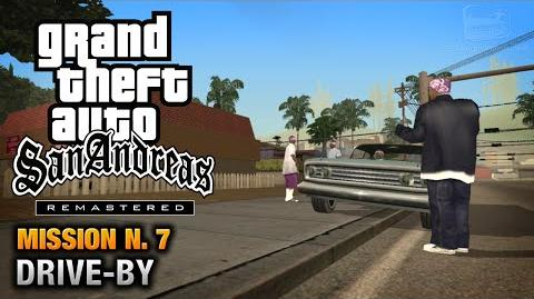GTA San Andreas Remastered - Mission 7 - Drive-By (Xbox 360 PS3)