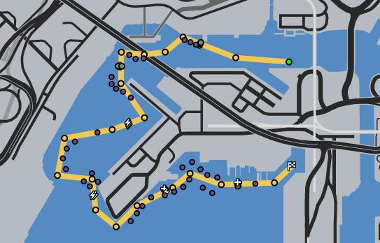 Pier 400 GTAO Race Map
