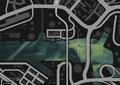 Wreck Banning Barge GTAV Map