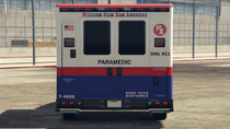 Ambulance-GTAV-Rear