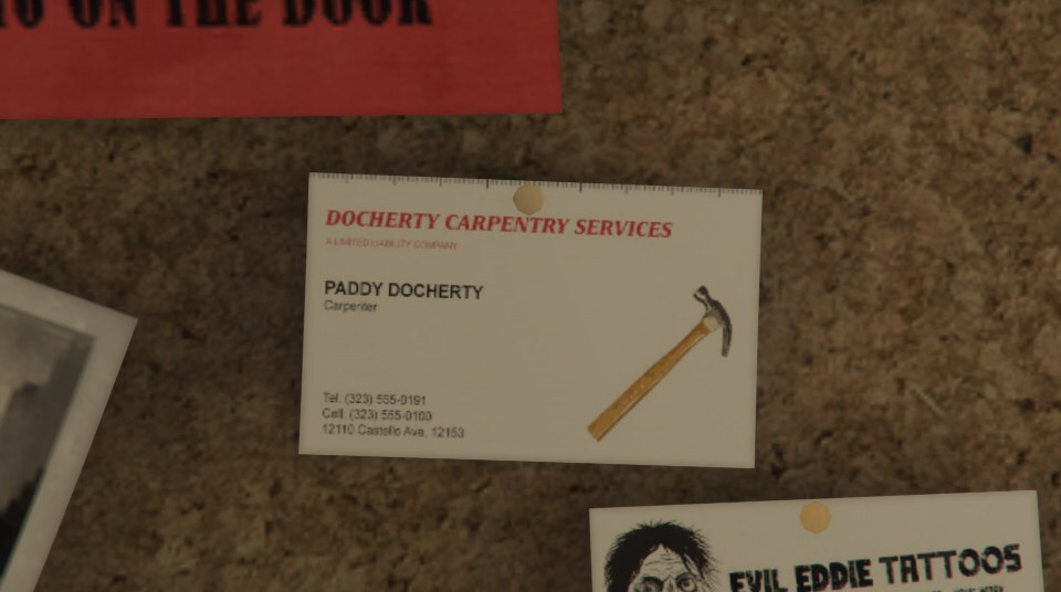 Docherty Carpentry Services | GTA Wiki | FANDOM powered by Wikia