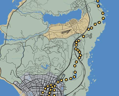 GTAO-Dusk Race Map