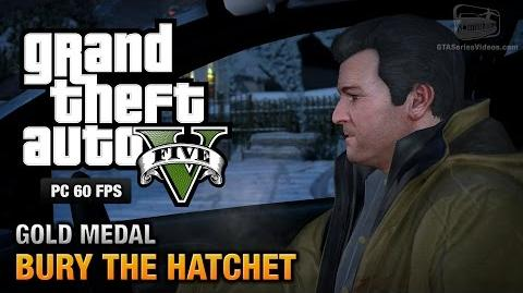 GTA 5 PC - Mission 57 - Bury the Hatchet Gold Medal Guide - 1080p 60fps