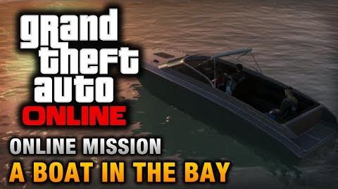 GTA Online - Mission - A Boat in the Bay Hard Difficulty