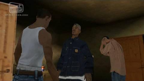 GTA San Andreas - Walkthrough - Mission 4 - Cleaning the Hood (HD)