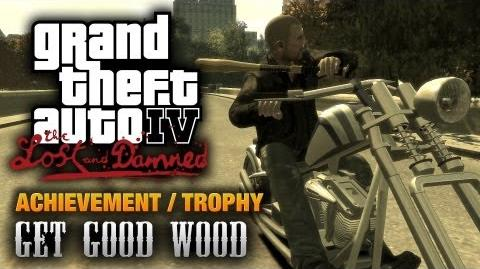 GTA The Lost and Damned - Get Good Wood Achievement Trophy (1080p)